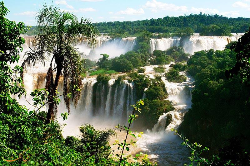 آبشارهای ایگواسو برزیل