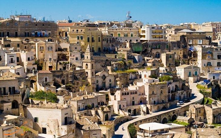 خانه های غاری در ایتالیا
