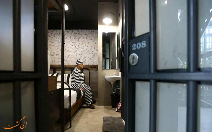 هتل شبیه زندان در بانکوک