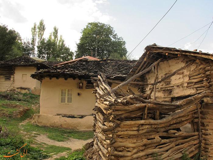 خانه های روستای کندلوس نوشهر