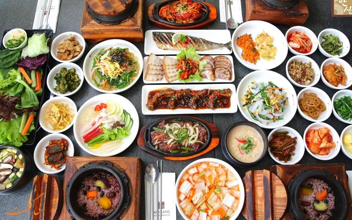 غذای کره ای