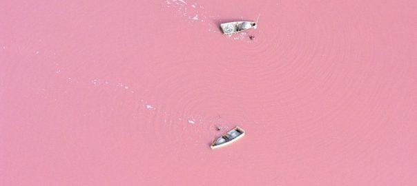 دریاچه رتبا در سنگال