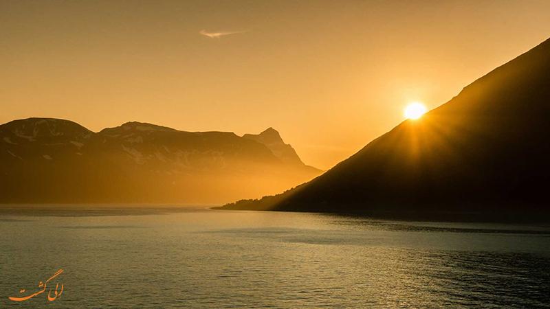 خورشید نیمه شب نروژ