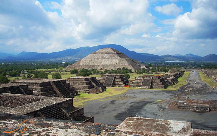 هم خورشید و ماه در مکزیک