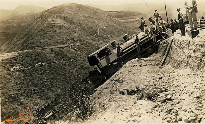 سقوط راه آهن اکوادور