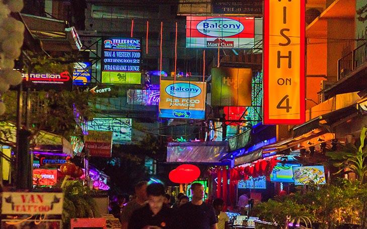 بازار شبانه تایلند