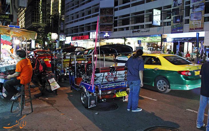 بازار شبانه پات پونگ در بانکوک