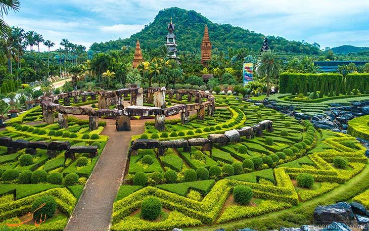 مناظری زیبا از باغ نونگ نوچ