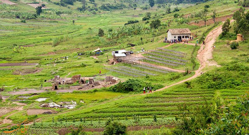 طبیعت کشور روآندا