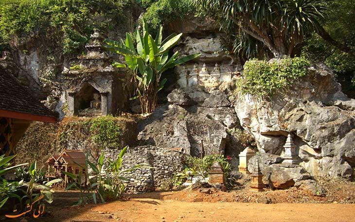 فضای بیرونی غار چیانگ دائو
