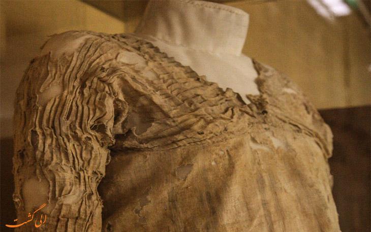 چین های قدیمی ترین لباس دنیا