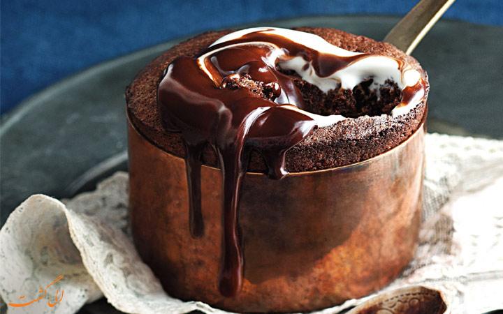 پودینگ شکلات