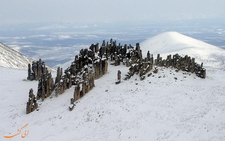 منطقه یخبندان در سیبری