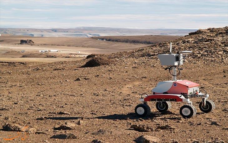 مریخ روی زمین