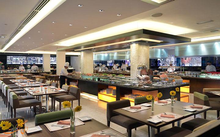 رستوران هتل کنکورد