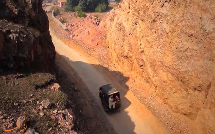 جاده ای عجیب در کرالا