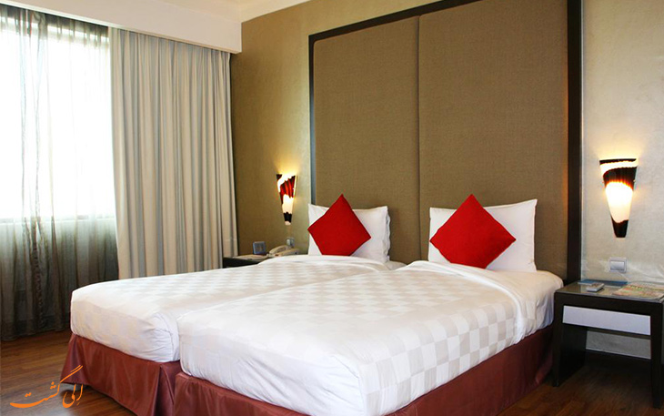 اتاق هتل نووتل