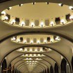 معماری زیبای ایستگاه های مترو در روسیه + ویدیو