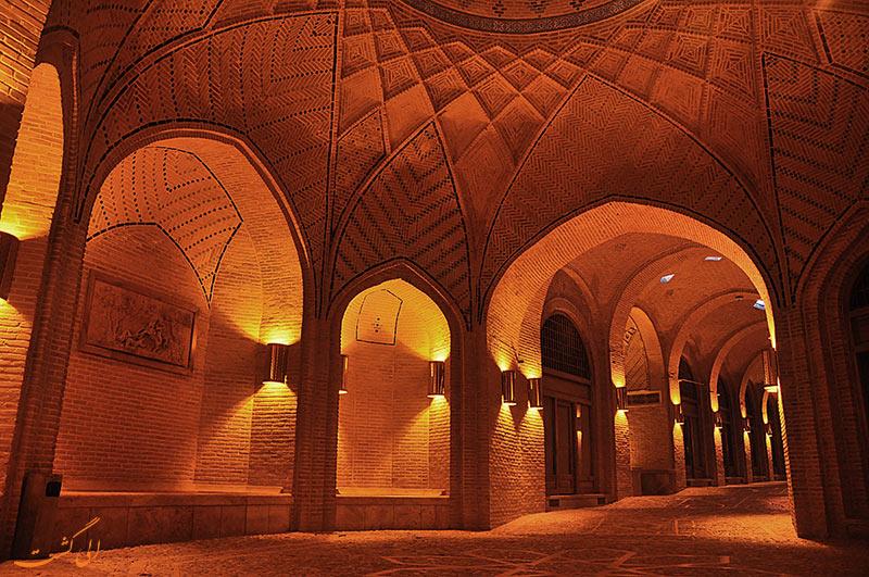 بنای کاروانسرای سعدالسلطنه