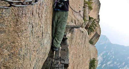 مسیرهای کوهنوردی ترسناک