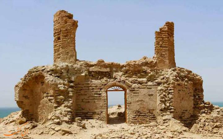 قلعه تاریخی در چابهار