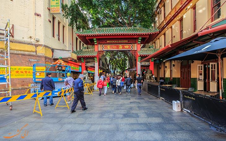 محله چینی ها در استرالیا