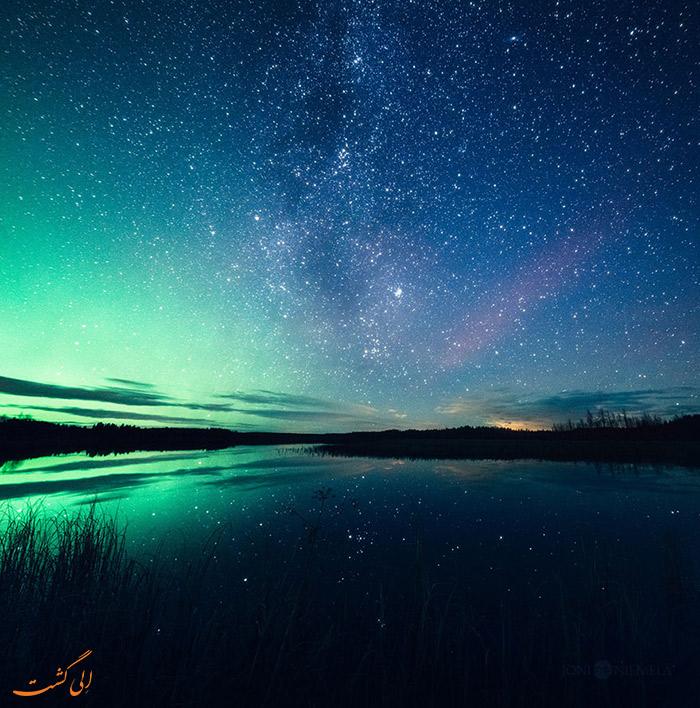 شفق قطبی در سوئد