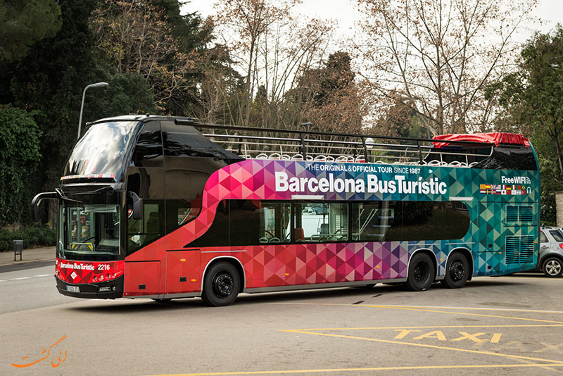 اتوبو س های توریستی بارسلونا