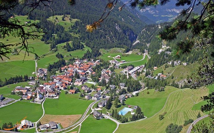 مناظر دیدنی سوئیس