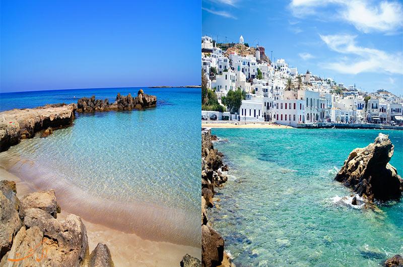مقایسه قبرس و یونان با آب هوایشان