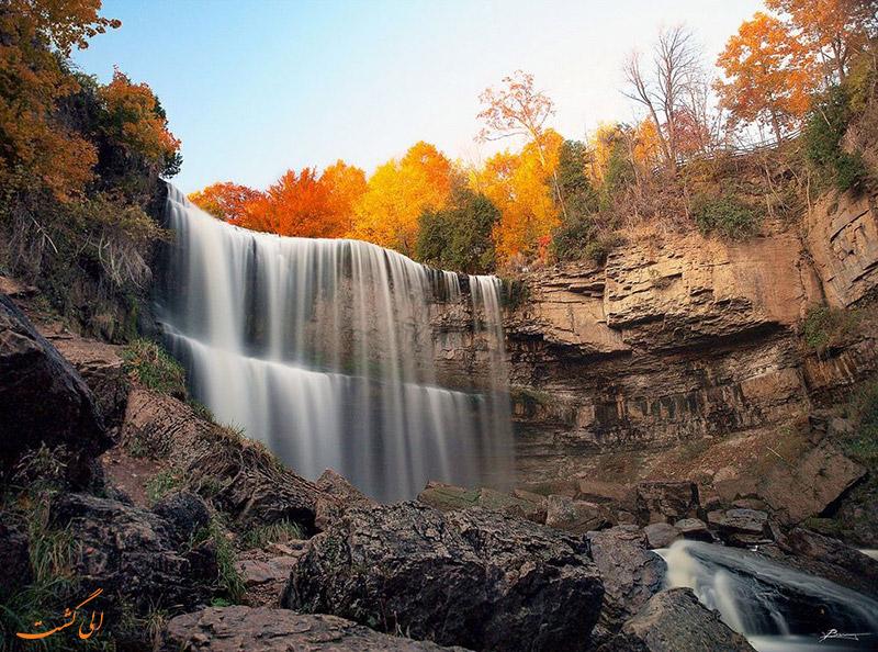 عکس آبشارهای همیلتون