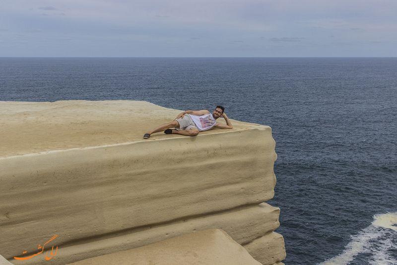 عکس صخره کیک عروسی در استرالیا