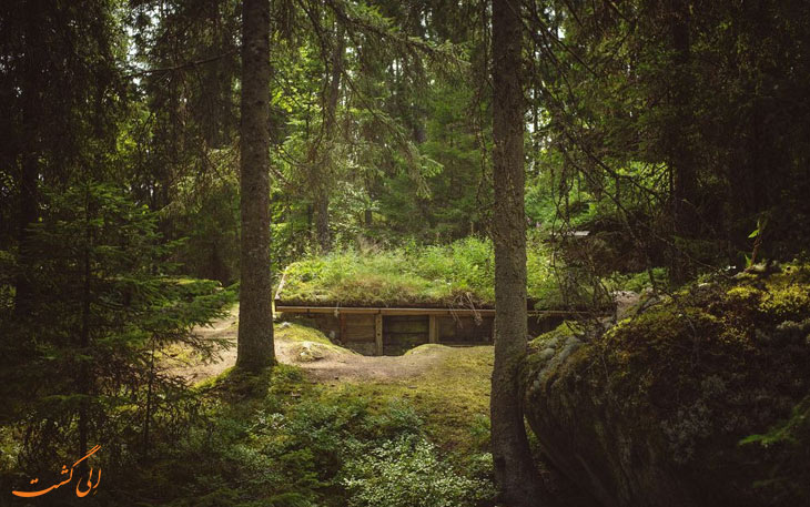 کلبه تاریخی در سوئد