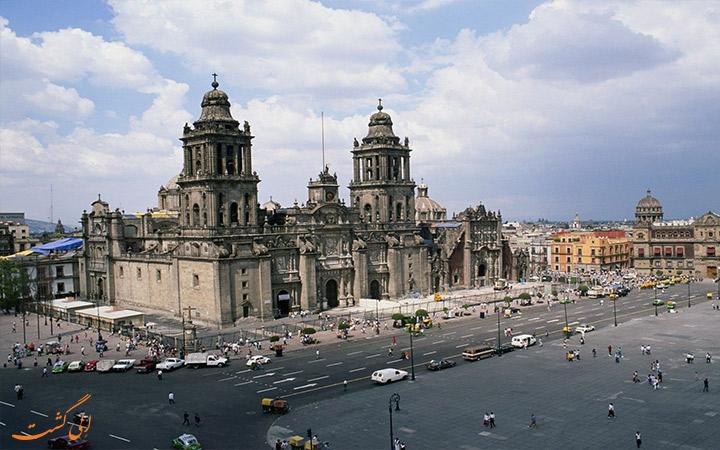 مهمترین میدان مکزیکو سیتی
