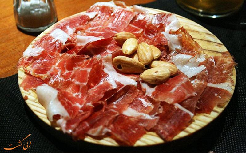 ژامبون- غذاهای معروف اسپانیایی