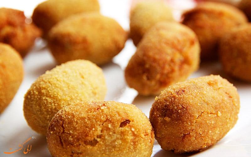 کروکتس croquetas- غذاهای معروف اسپانیا