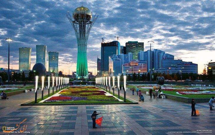 جاذبه های قزاقستان