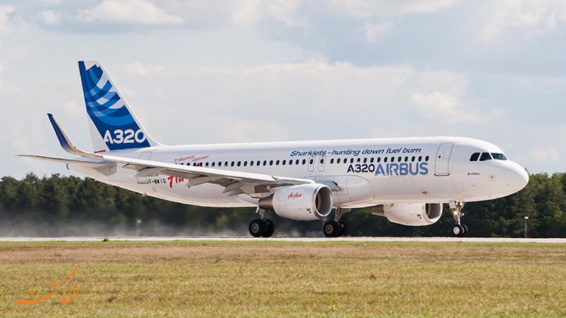 هواپیماهای شرکت ایرباس