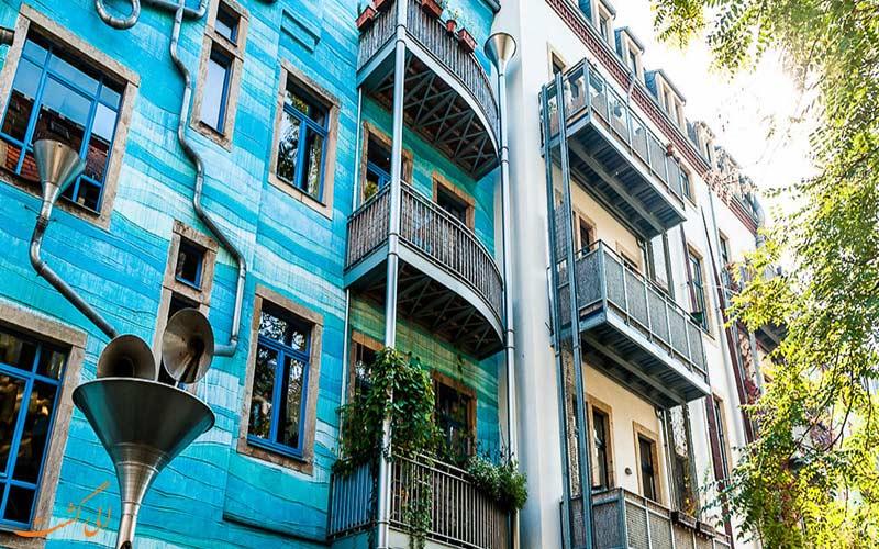 ساختمان آهنگ در آلمان