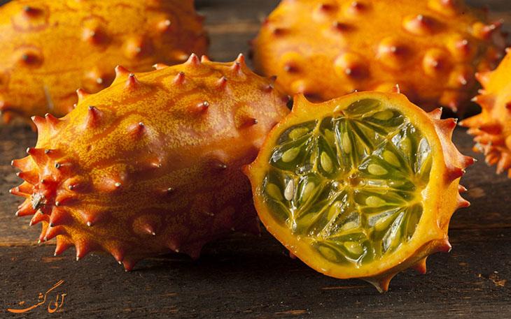 4. Kiwano melon