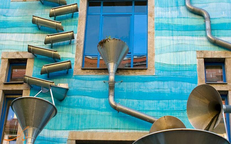 ساختمان آب رنگ آلمان