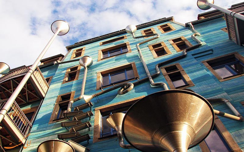 ساختمان زیبای آلمان