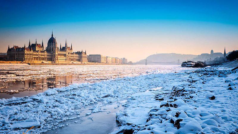بوداپست در زمستان