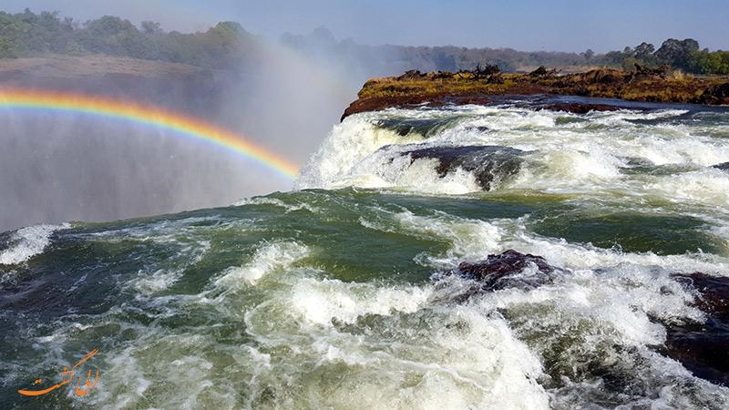 استخر شیطان در زامبیا