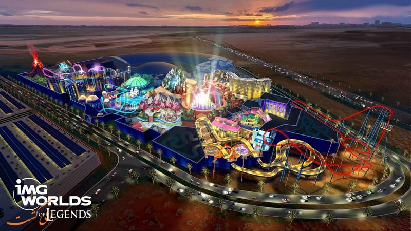 آیام جی | شهر بازی های دبی