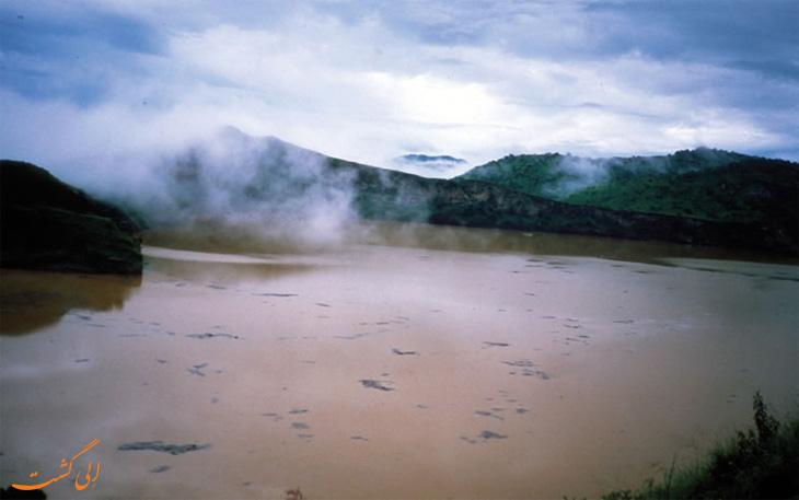 دریاچه های خطرناک جهان