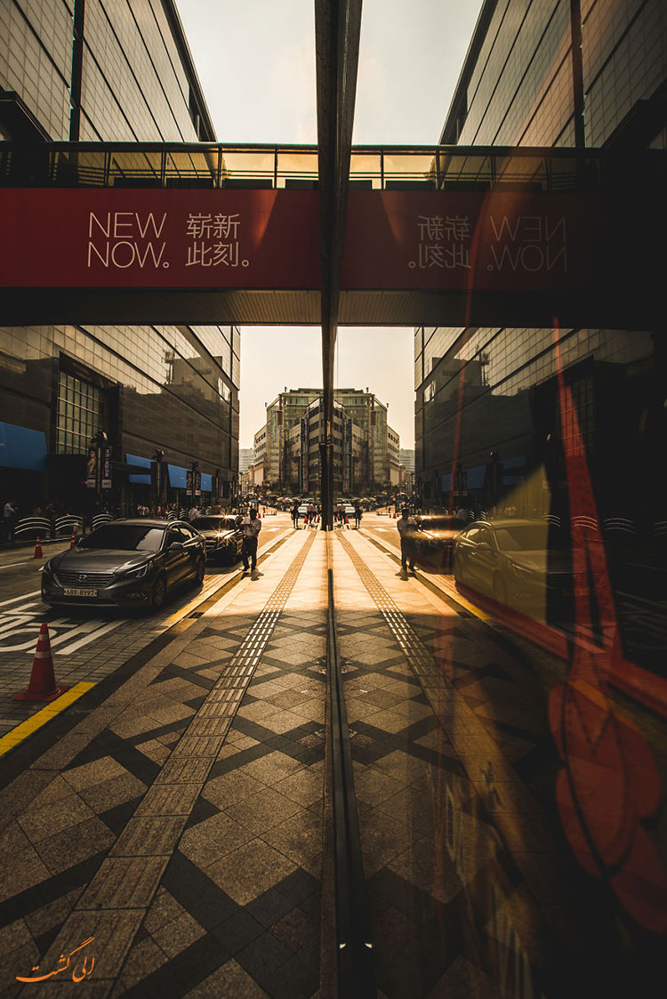 خیابان های کره جنوبی