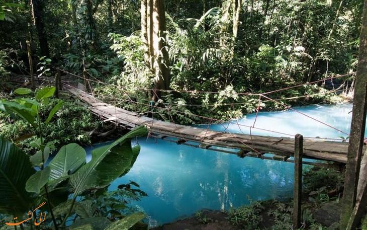 رودخانه ی Rio Celeste
