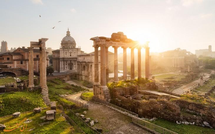 راهنما سفر به رم
