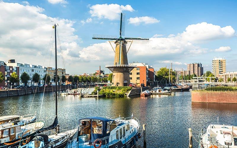 شهر روتردام در هلند